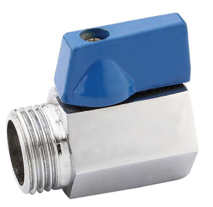 """stainless steel Mini Ball Valve, 1/2"""" MPT to 1/2""""FPT, kettle ball valve,home brew hardware"""