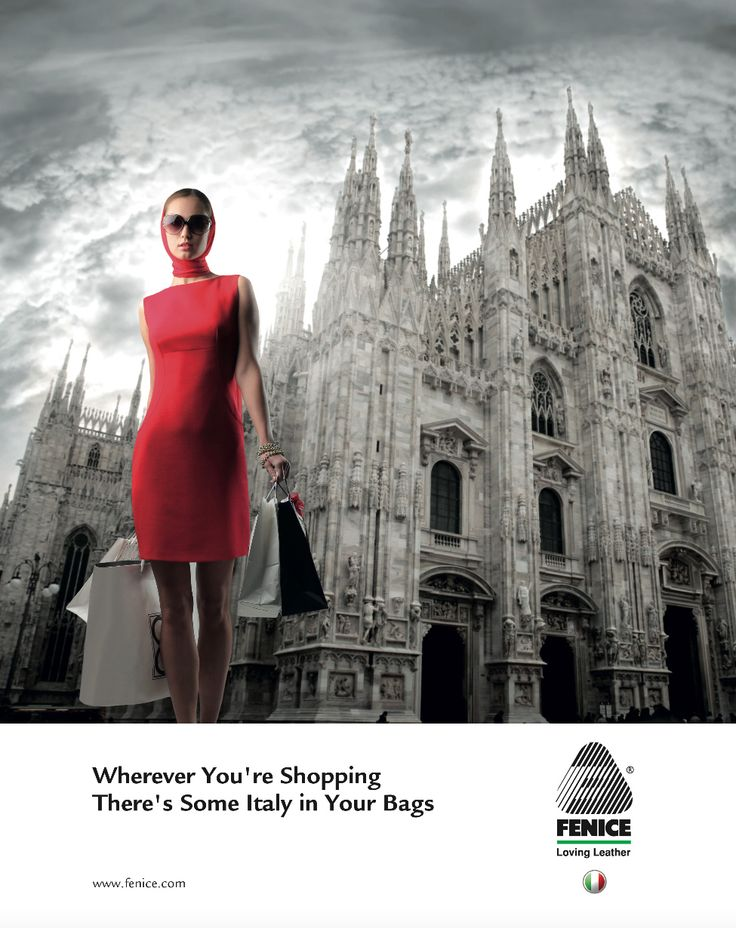Wherever You're Shopping There's Some Italy  in Your Bags