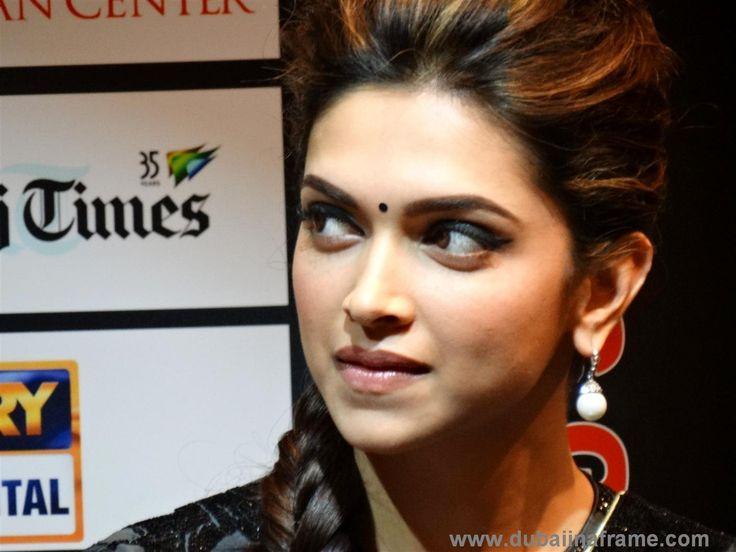Deepika Padukone in Dubai for the promotional tour of Chennai Express