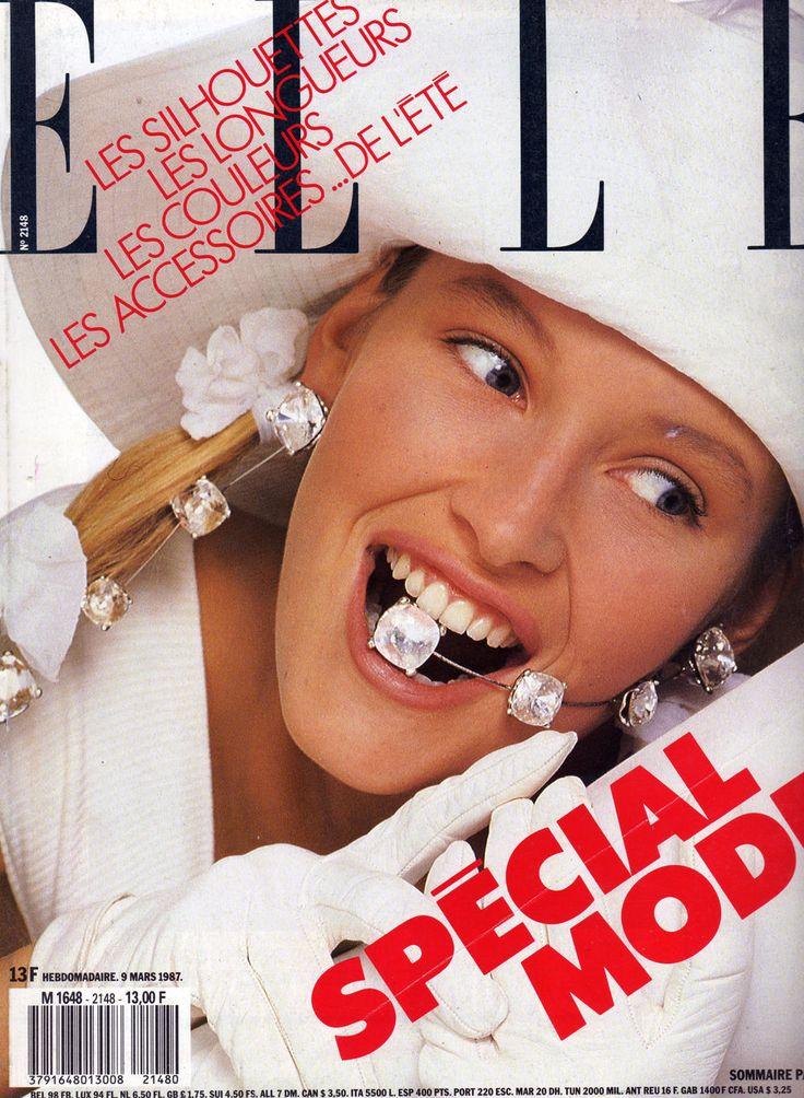 Estelle Lefebure - Elle France 1987