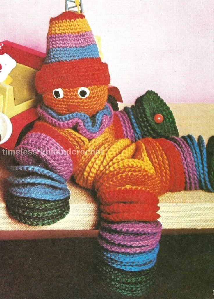 31 besten crocheted circles clowns Bilder auf Pinterest | Clowns ...