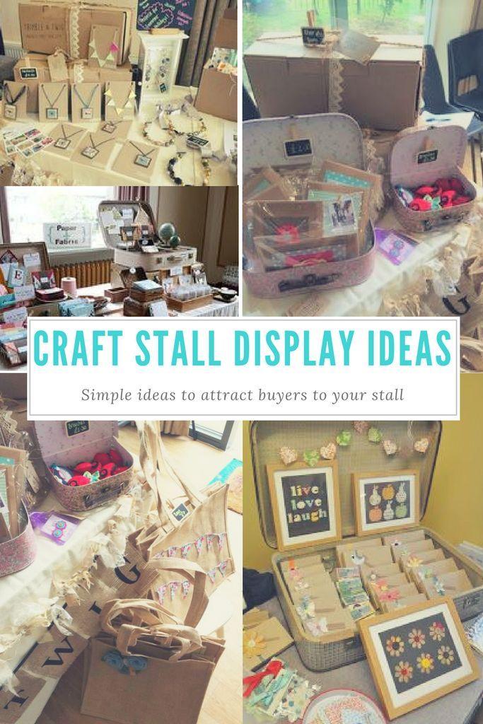 Best 25 stall display ideas on pinterest market stall for Easy craft fair ideas