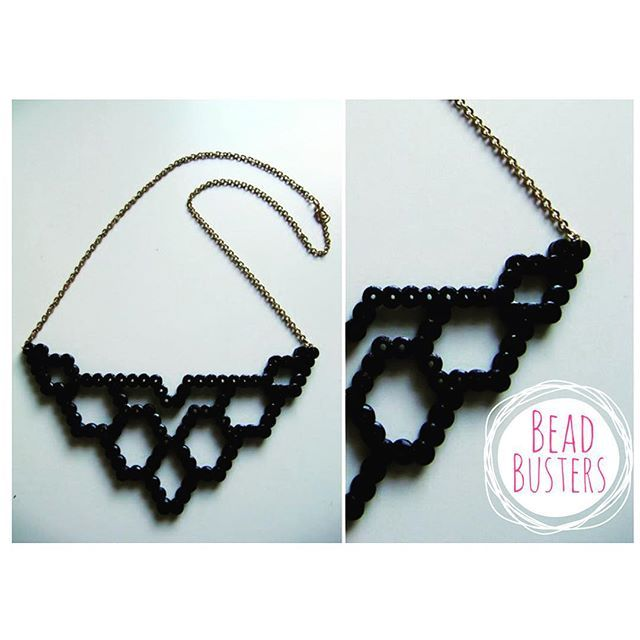 Necklace hama beads by beadbusters                                                                                                                                                                                 More