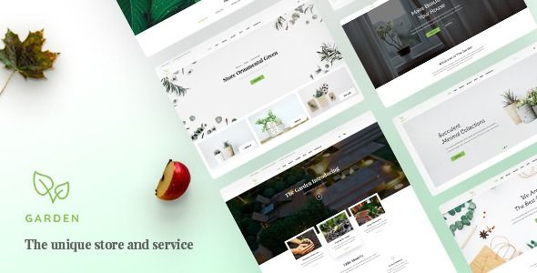 Garden Lawn Landscaping Bootstrap 4 Template Stylelib Lawn And Landscape Garden Services Psd Template Free