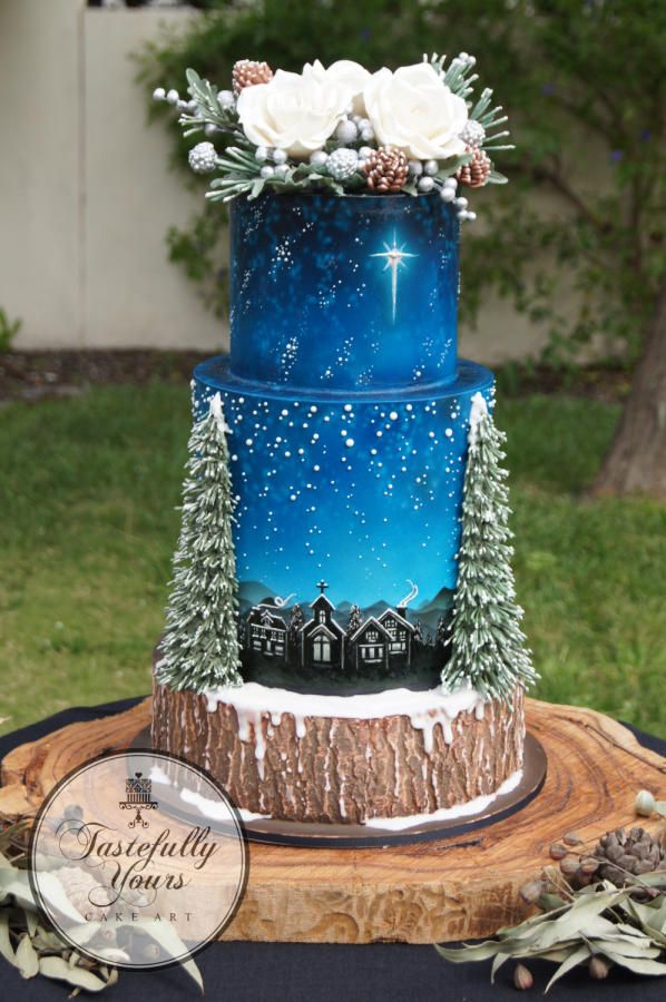 Winter Woodland by Marianne: Tastefully Yours Cake Art