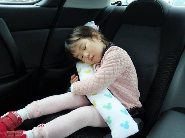 子ども用シートベルト枕の作り方 車の中でも安眠できる Chiik 枕の作り方 シートベルトカバー シートベルト