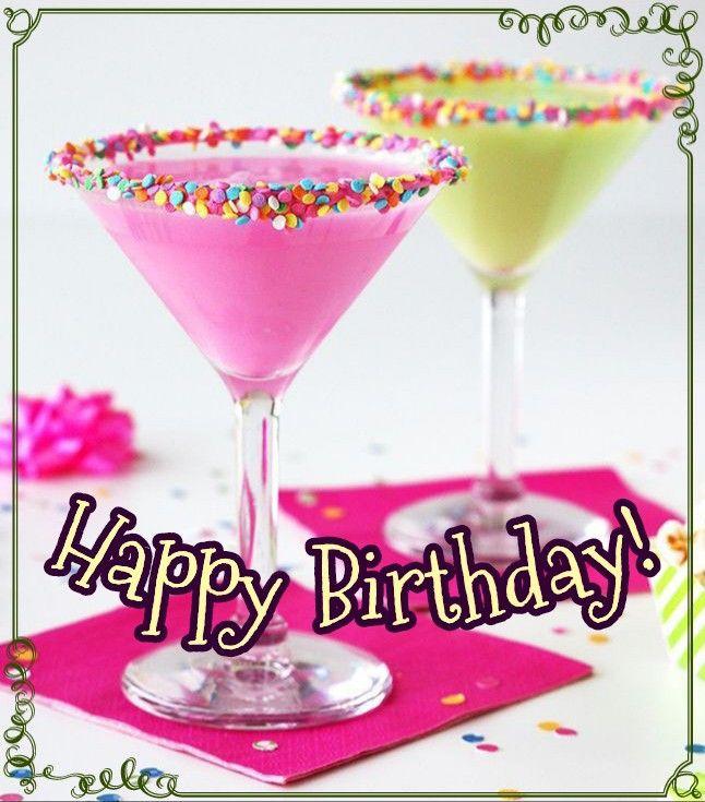 Happy Birthday Drinks Happy Birthday Drinks Birthday Drinks