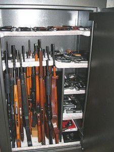 how to build a hidden gun cabinet