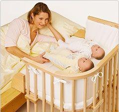 cuna colecho gemelos http://dekoramuebles.com/6-mini-cuna-baby-bay