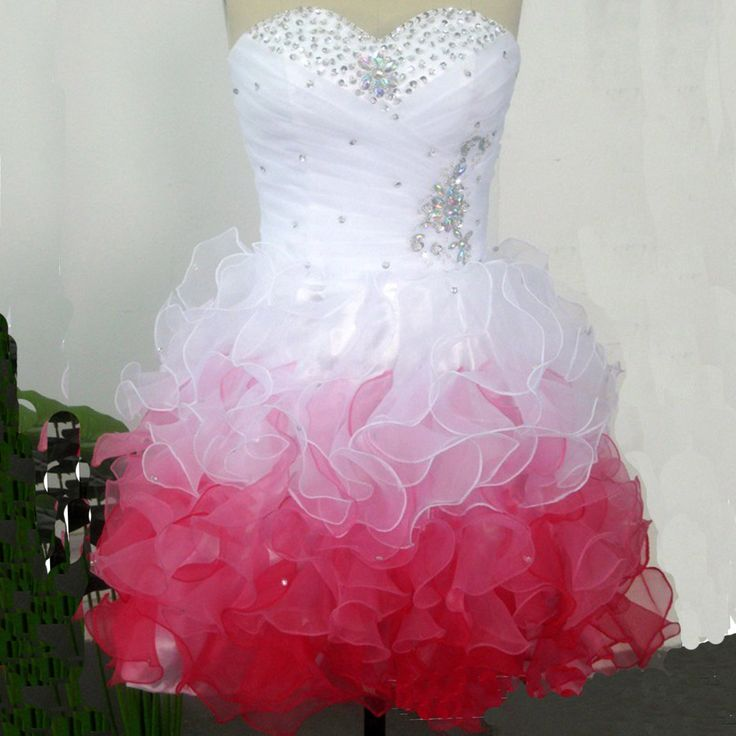 Each of our dress are made to order by hand  Dress code:G0044  Fabric: Tulle Embellishment:Beading, sequins Straps:Strapless Sleeves:Sleeveless Fashion: Prom dress Color: see picture  Size: 2,4,6,8,10,12, Custom-made  Each of dress may take 15-20days for processing + 5days for transp...