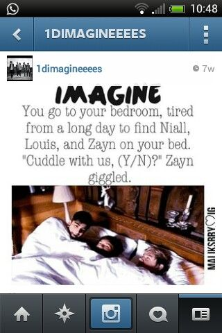 One direction imagines he's dating your best friend