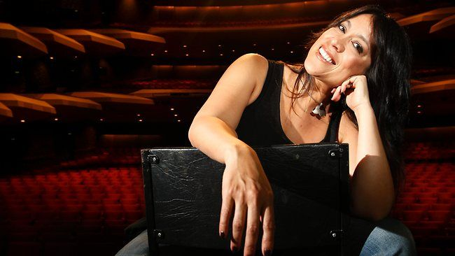 Kate Ceberano, again, award-winning Aussie artist whose energetic & sexy voice has been rewarded with 5 Platinum albums & 5 Gold albums.