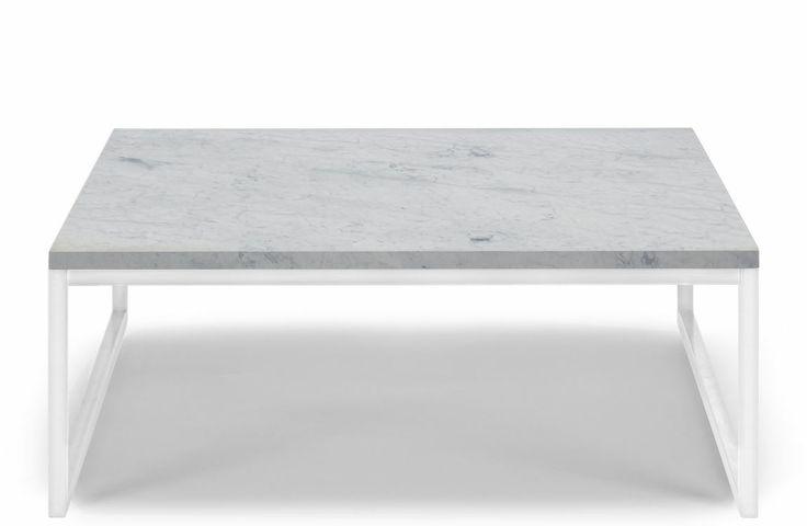 Como Sofabord 60x60 Low fra Bolia kr 3827,13  Pulverlakkert stål og marmor