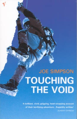 The true story of two climbers and their perilous journey up the west face of Siula Grande in the Peruvian Andes in 1985. Selected for the World Book Night book giveaway 2012. Click on the book jacket for ratings and reader reviews on Anobii.