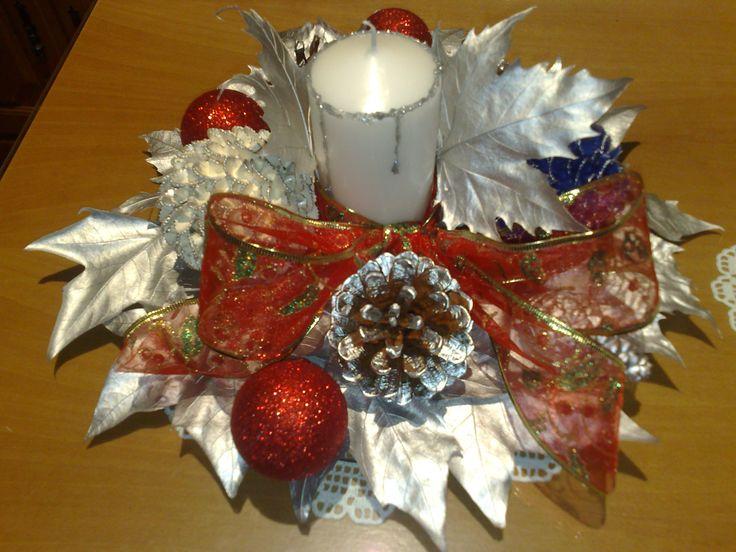 Centro de mesa navide o manualidades buscar con google - Centro navideno de mesa ...