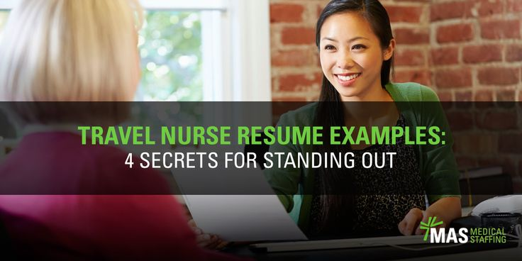 Use these travel nurse resume examples to create the perfect nursing resume! Stand out and get the job of your dreams with our tips.