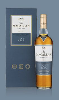 Macallan 30 year old single malt scotch whiskey