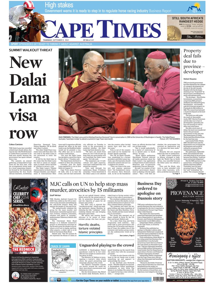 News making headlines: New Dalai Lama visa row