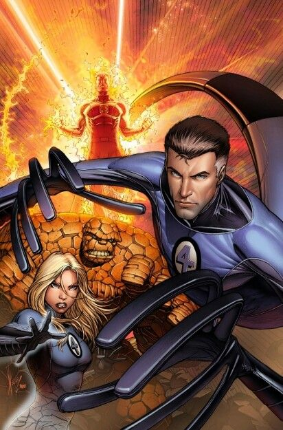 Fantastic Four by Dale Keown