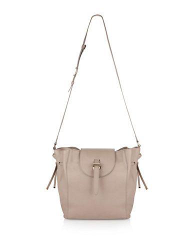 MELI MELO Meli MeloFleming Medium Leather Bucket Bag. #melimelo #bags #shoulder bags #leather #bucket #