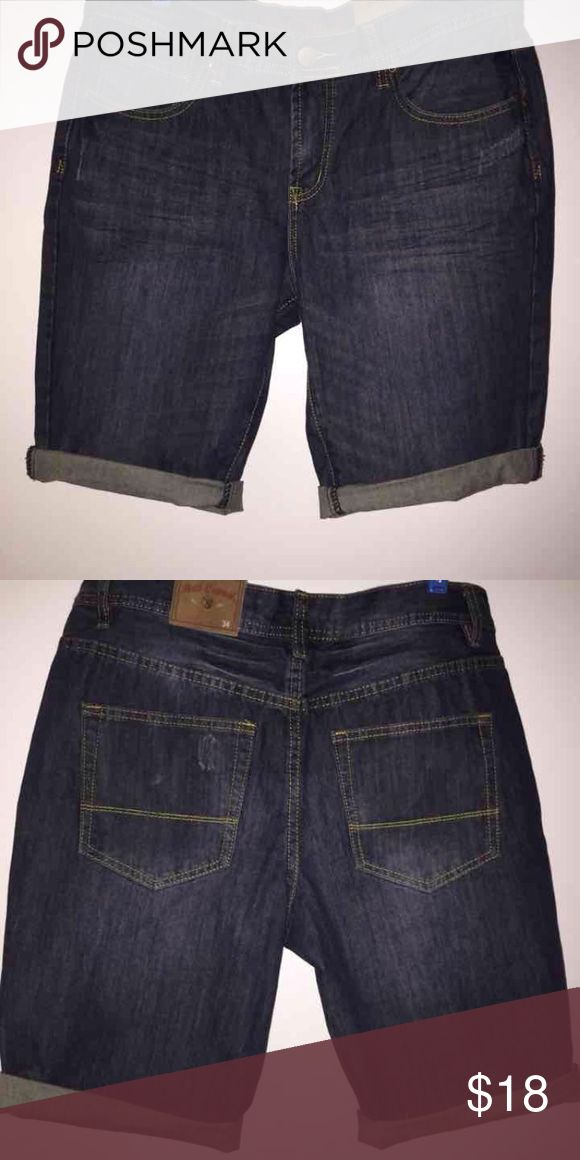 Red Camel shorts NEW - Here is a roll up denim shorts. The color is dark indigo. Red Camel Shorts Jean Shorts