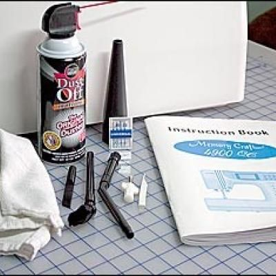 Care & Feeding of Your Sewing Machine {Machine Care}