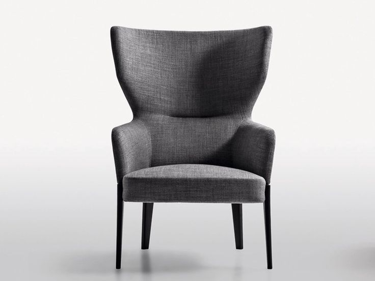 Upholstered fabric easy chair CHELSEA Chelsea Collection by MOLTENI C. | design Rodolfo Dordoni