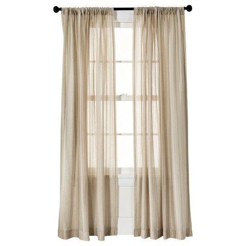 ThresholdTM Leno Weave Sheer Curtain Panel