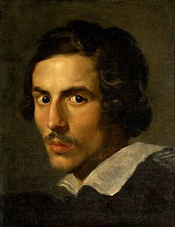 A self-portrait of Gian Lorenzo Bernini (1598–1680), an Italian artist, architect, and sculptor who is credited with creating the Baroque style of sculpture. He received commissions for sculptures at an early age from Cardinal Scipione Borghese and soon rose to prominence under the patronage of Popes Gregory XV, Urban VIII, and Alexander VII.