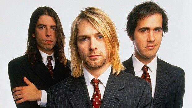 Nirvana Kurt Cobain Krist Novoselic Dave Grohl Suit Style
