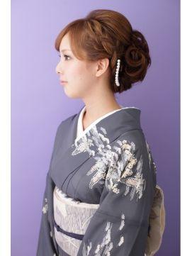 イチコ ichiko 【和装】 編み込みアップスタイル ≪ichiko≫