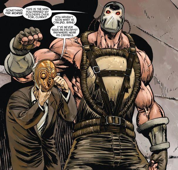 Sebastian Clark the Court of Owls' former grandmaster reveals his partnership with Bane  - Talon #7