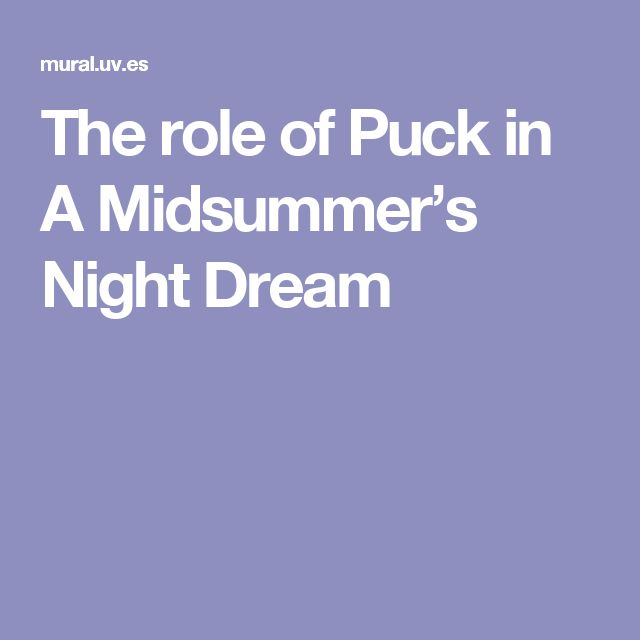 How does A Midsummer Night's Dream depict the role of women in that time period?