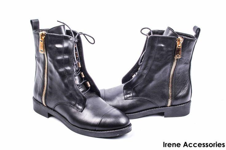 Ботинки женские кожаные Alsace (ботильоны стильные, байка), фото 4