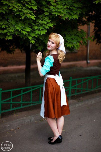 Cinderella Disney Cosplay by GlissMagicWorkshop on Etsy