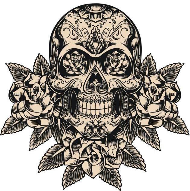 """Continuando con esta nueva sección de """"La historia de los tatuajes"""", dedicada a contar la historia y el significado de aquellos tatuajes clásicos que nunca pierden protagonismo entre los diseños más populares, hoy vamos a conocer la historia de los tatuajes de calaveras. Además, por si acaso estas pensando en"""