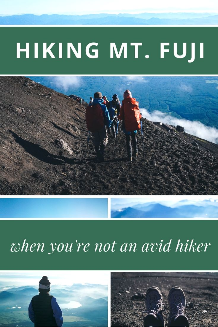 While photos of it are practically iconic, have you ever thought about hiking Mt Fuji? I had my friend share her experience climbing this famous volcano! via @thshegoesagain