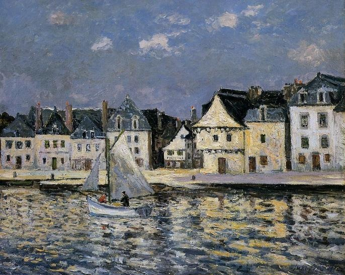 Maxime Maufra (1861-1918) French Impressionist Painter毛夫拉法國印象派畫家