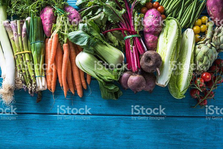 Местный рынок свежих овощей, сад продукты Стоковые фото Стоковая фотография