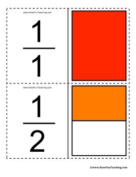 This set of Fractions Flash Cards includes 78 printable flash cards for teaching and learning fractions. All Fractions from 1/1 to 12/12 included i...