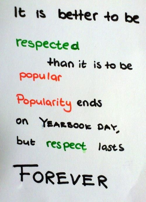 23 Coool Respect Quotes