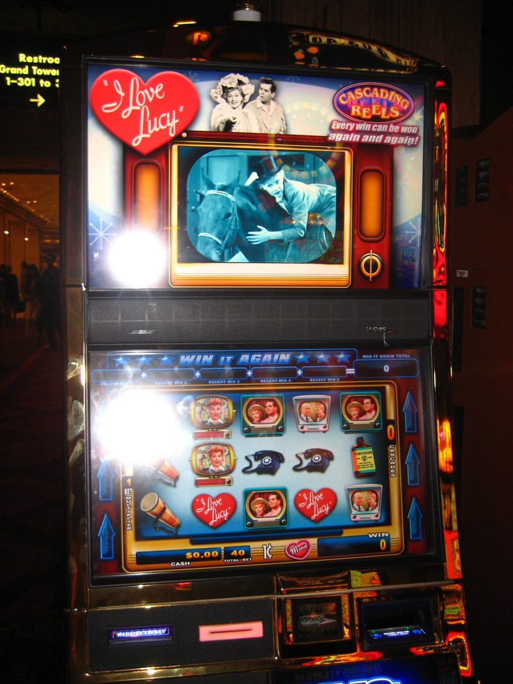 Slot machine with presidents