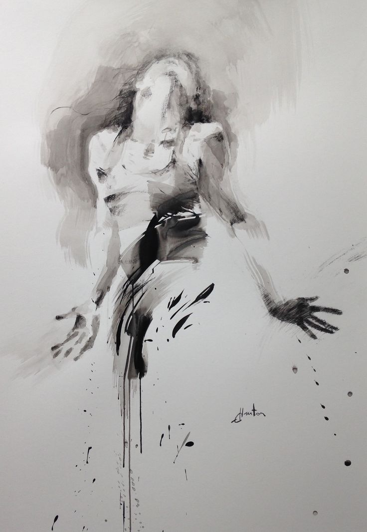 ewa hauton 70x100cm ink on paper