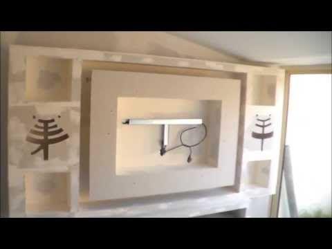 17 meilleures id es propos de meubles pour t l vision - Fabriquer un valet de nuit ...