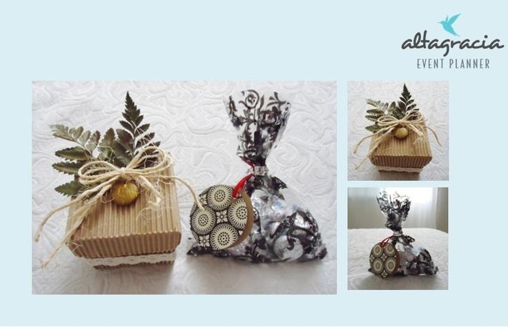 Lindos empaques para chocolates!