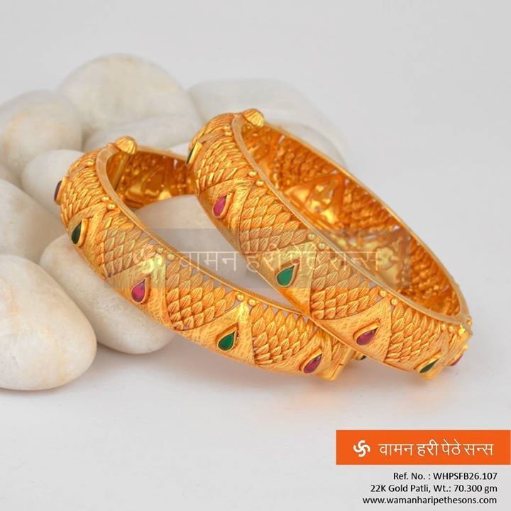#Beauteous #gorgeous #fabulous #attractive #designer #gold #patli from our #brand new collection.