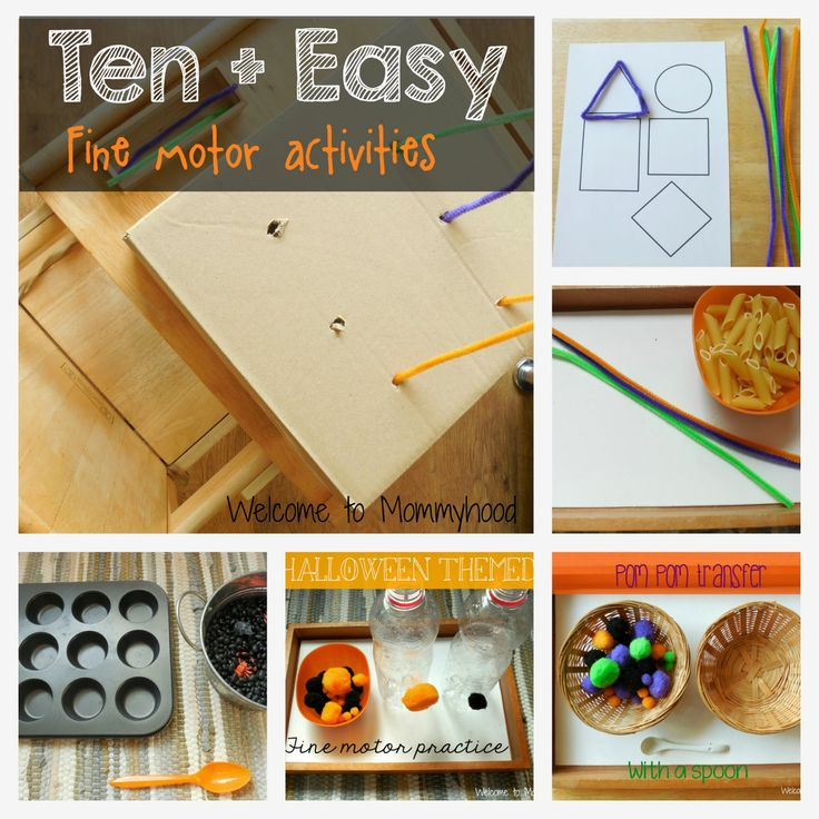 Fine motor activities for preschoolers and toddlers by for Montessori fine motor skills