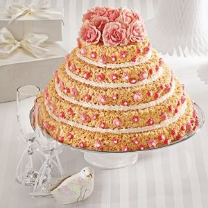 58 best decorated rice krispie treat fun images on pinterest if i ever get married during my lifetime hopefully whoever i marry would rather have a rice krispy treat cake ccuart Image collections