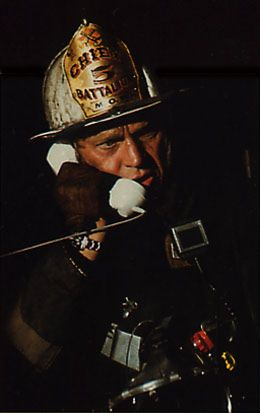 The Towering Inferno is a 1974 American action drama disaster film produced by Irwin Allen featuring an all-star cast led by Steve McQueen and Paul Newman. The picture was directed by John Guillermin.
