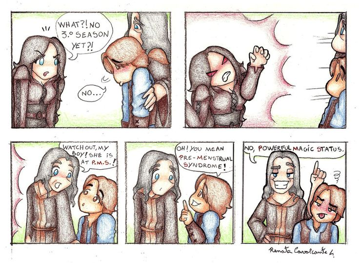 Kahlan with PMS by Lillymonkey on DeviantArt